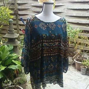 Roz and Ali tunic 2X